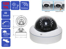 VANDAL PROOF 1200 TVL 720P SONY CMOS VARIFOCAL ZOOM DOME CCTV SECURITY CAMERA