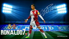 "161 Cristiano Ronaldo - Real Madrid Super Star Soccer Player 43""x24"" Poster"