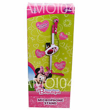 Minnie Mouse Bow-tique Microphone Stand Demo Songs - For iPod, Mp3 Player *New