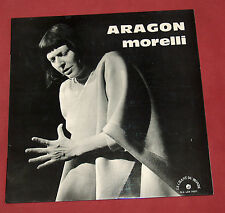MONIQUE MORELLI   LP CHANSONS D'ARAGON