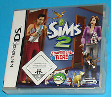 Die Sims 2 - Apartment Tiere - Nintendo DS NDS - PAL