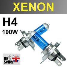 H4 100W BULBS XENON SUPER WHITE HEADLIGHT DIPPED 472 BEAM MITSUBISHI DELICA