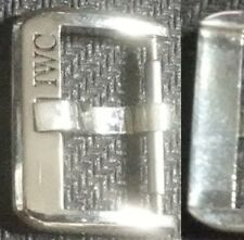 Original Vintage IWC Buckle Fibbia 18mm inner Stainless Steel VeryGood Cond L@@K