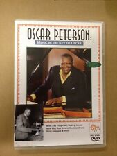 Oscar Peterson:Music in the Key of Oscar(UK DVD)Jazz Piano Verve Norman Granz