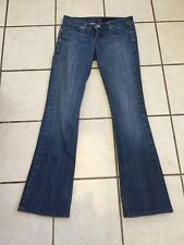 People's Liberation Med Wash Low Rise Boot Cut Tanya Jeans Sz 24