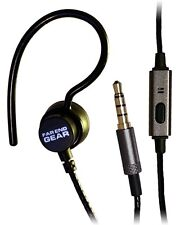 Far End Gear XDU Recon Single Earhook Headphone With Mic Stereo to Mono (Black)