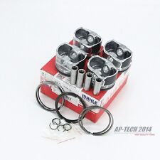 New 4X  Piston & Ring Kit For AUDI A3 A4 A6 VW Polo GTI Jetta Beetle 1.8T
