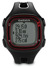 GARMIN Forerunner 10 GPS Sports/Running Watch BRAND NEW (Black/Red) 010-01039-03