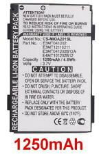 Batterie 1250mAh type E3MT041202 E3MT041202B12A E3MT12110211 Pour Medion MD96700