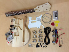 Ei38 3/4 Size Short Scale TE Style Electric Guitar DIY Kit,Complete No-Soldering