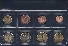 ANDORRA / SPANIEN EURO-KMS MIT 8 MÜNZEN, 1 CT. - 2 EURO, UNZIRKULIERT