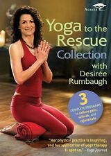 Yoga to the Rescue Collection [3 Discs] (2010, REGION 1 DVD New)