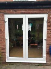 UPVC FRENCH DOORS 1200MM X 2100MM  NEW MADE TO MEASURE  £299. SYNERJY, SYNSEAL