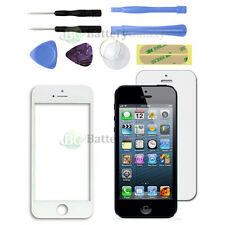 White LCD Screen Glass Lens Replacement+Film Guard for Apple iPhone 5 5G +Tools
