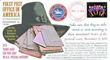 COVERSCAPE computer designed 375th anniversary of the 1st Post Office cover