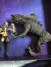 ToyBiz Lord of the Rings LOTR Sharku Warg Beast Rider Posable Loose