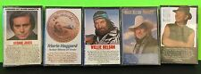 Mixed Lot Of 5 80's Classic Male Country Music Cassettes Collectible NEW Sealed