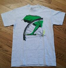 Giant Cycling Bike Wheel Tire Iguana T-Shirt Men's Medium racing/rare graphics