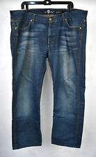 Seven 7 For All Mankind Slimmy Cliffside Blue Jeans 38 Mens