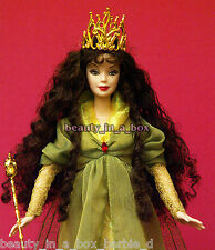 Platinum Faerie Queen Legends of Ireland Barbie Doll Brunette Displayed NO BOX