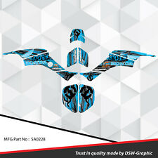 Racing Honda TRX 400 EX Graphic Kit Wrap Quad Decal ATV 1999-2004 SA0228