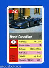 [GCG] SUPERCARTINE - SCHMID - Figurina-Sticker n. 2C - KOENIG COMPETITION