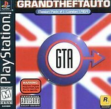 ***GRAND THEFT AUTO LONDON MISSION PACK PS1 PLAYSTATION 1 DISC ONLY~~~