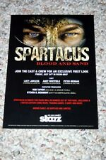 Starz Spartacus Blood and Sand Promo Postcard Comic Con 2010
