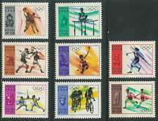 Poland stamps MNH Olympic games  (Mi. 1855-62)