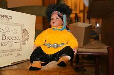 Danbury Mint Dolls - Little Breeze Indian Boy in cute clothes and nice jewels