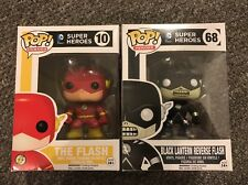 POP! DC Super Heroes: The Flash and Black Lantern Flash