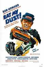 Eat My Dust Poster 01 A3 Box Canvas Print