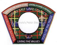 Great Salt Lake Council SA-171b 2007 Woodbadge Association CSP Mint FREE SHIP