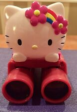 Hello Kitty Red Binoculars 4x20m/m Lens Excellent Used Condition  Rare