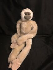 "Wild Republic Brown Monkey Plush 18"" Stuffed Animal Long Limbs"