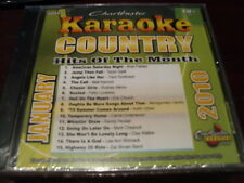 CHARTBUSTER COUNTRY HITS OF THE MONTH KARAOKE 60427 JANUARY 2010 CD+G 15 SONGS