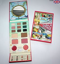 The BALM VOYAGE VOL II Face Palette Shadow, Blushe, Bronzer, Highlighter,matte