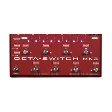 Carl Martin Octa-Switch MK 3 True-Bypass Pedal Switcher Octaswitch MKiii IN BOX!