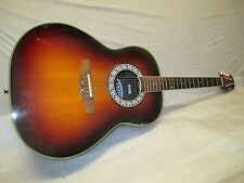80's OVATION ELECTRO ACOUSTIC STEEL STRING -- made in USA