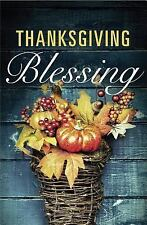 Thanksgiving Blessing 25pk Tracts (2015, Stapled)
