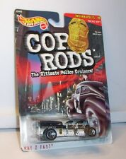 HOT WHEELS COP RODS WAY 2 FAST INDIANAPOLIS, IN POLICE DEPT MINT ON CARD