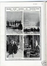 1915 THE GRAPHIC Newspaper WW1 ALEXANDRE MILLERAND Trentino Italy TRENCHES (1042