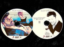 RICKY MARTIN Promotional Music Video Reel 2 DVD Set 49 Vids Menudo FREE SHIPPING