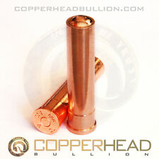 1 x 5oz Solid Copper Shotgun Shell 12 Gauge Bullet Rounds Ammo Bullion 8-16 Bar