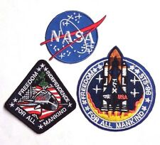 "Armageddon Movie  3"" Mission Patch Set of 3- FREE S&H (MIPA-242)"