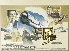 "The 39 Steps 16"" x 12"" Reproduction Movie Poster Photograph"