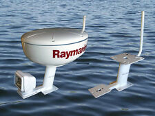 "SeaScan Marine Radar Mount 10"" fits Raymarine Garmin Furuno  all 3G-4G & more"