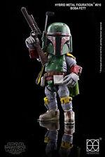 86hero Herocross ~ Hybrid Metal #016 Star Wars Boba Fett Figure