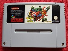 MARVEL SUPER HERO'S IN WAR OF THE GEMS CARTRIDGE ONLY SUPER NINTENDO SNES