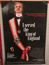 Original Movie Poster I Served The King Of England Single Sided 27x40